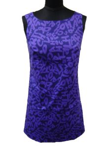 Lady′s Woven Dress (10)