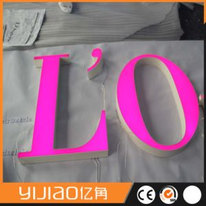 Acrylic Luminous Letter Sign Front Lit for Advertisement pictures & photos