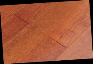 Birch Handscraped Engineered Wood Flooring- 910X125X15mm-Wheat Color (LYEW 03) pictures & photos