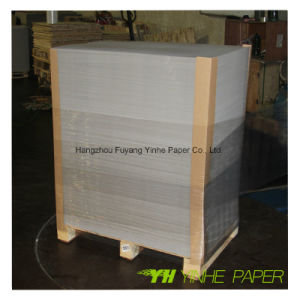 Duplex Board Mill/Jumbo Roll Paper/White Board Paper Grey Back pictures & photos