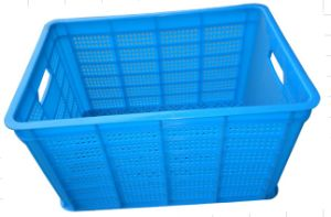 495X325X270mm Plastic Basket HD-a with Blue From China Plastic Basket pictures & photos