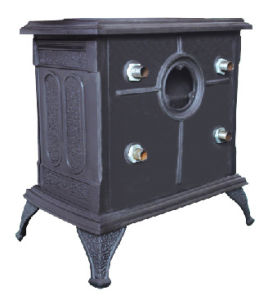 Cast Iron Wood Boiling Stove with Water Tank (FIPA043B) , Stove pictures & photos