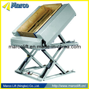 Marco Tilt Scissor Lift Table with CE Approved pictures & photos