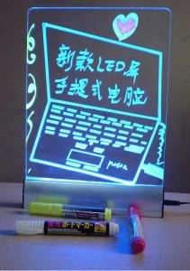 Desk LED Writing Board (2) pictures & photos