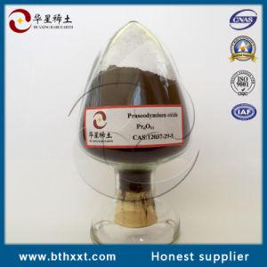 SGS Pass Brown Powder Praseodymium Oxide pictures & photos