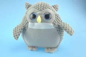 Grey Stuffed Plush Toy Owl pictures & photos