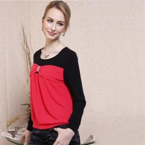 Lady′s Cotton T-Shirts 11s147