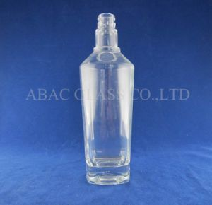 Crystal Vodka Glass Bottle/500ml pictures & photos