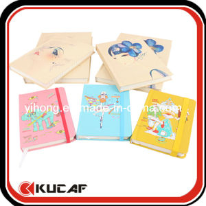 Offset Printing Art Paper Hard Cover Notebook pictures & photos
