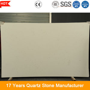 3.2m*1.6m 20mm Thick Polished Engineeed Quartz Big Stone Slab for House Decoration pictures & photos