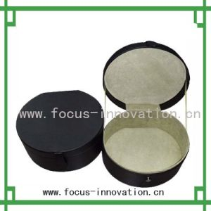 Round Leather Gift Case (F1873)
