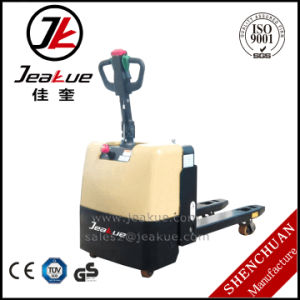 2017 China Factory Price 2t Full Electric Standing Pallet Truck (pallet jack) pictures & photos