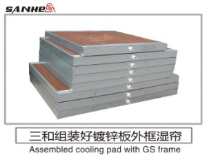 Galvanized Steel Frame Cooling Pad-Lee pictures & photos