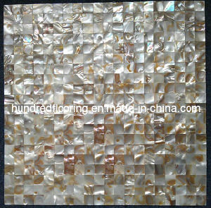 Iridescent River Shell Mosaic Tile (HMP60) pictures & photos