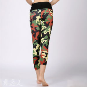 Women Fitness Leggings Ladies Latest Design New Fashion Trousers pictures & photos
