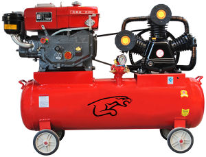 Diesel Engine Air Compressor (180# Diesel) pictures & photos