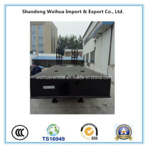 China 80t Heavy Duty Low Bed Semi Trailer for Sale pictures & photos