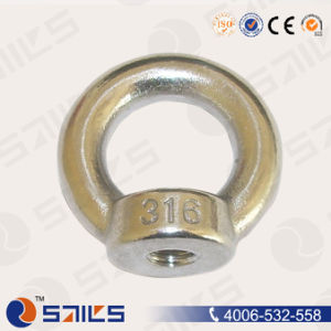 Stainless Steel Shoulder Eye Nut DIN582 pictures & photos