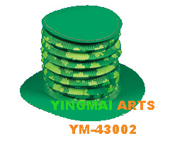 Party Hat, Festival Hat for St. Patrick′s Day Decoration
