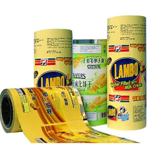 Plastic Printted Roll pictures & photos