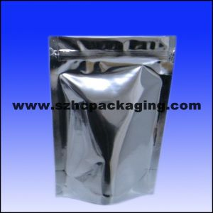 Zipper Bag with Zip Lock