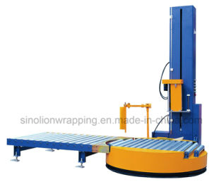 Sinolion 2017 Automatic Pallet Online Pre-Stretch Wrapper pictures & photos