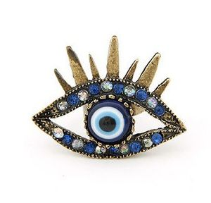 Jewelry Ring/ Finger Ring/ Fashion Rings/ Eyes Shape Fashion Jewelry (XRG12004) pictures & photos