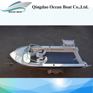 4.2m New Design Runabout Aluminum Pleasure Fishing Boat pictures & photos