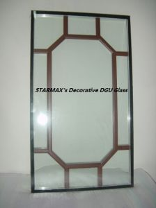 Decorative Dgu Glass, Insulated Glass
