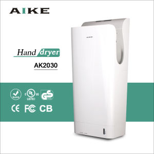 AK2030 Bathroom Electric Automatic high speed jet hand dryer with HEPA Filter, UV Light pictures & photos