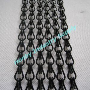 2015 New Condition Black Color Double Hook Aluminum Register Chain