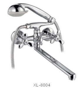Dual Handle Wall-Mounted Kitchen&Shower Mixer (XL-8004)