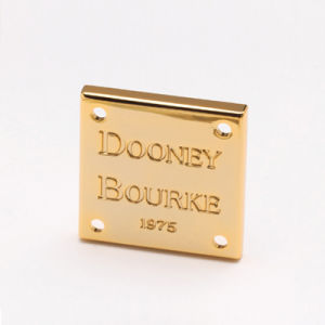 Zinc Alloy Tag for Bags Cases and Boxes, Label, Logo pictures & photos