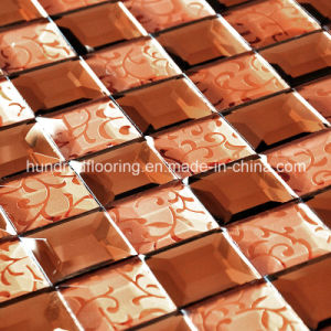 Mosaic Tile Diamond Mirror Mosaic (HD045) pictures & photos
