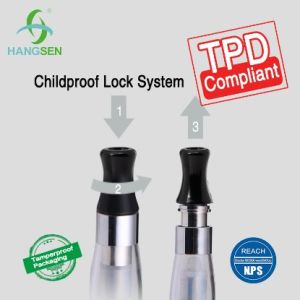 Childproof Lock for Ce4 Atomizer with Tpd Approved E-Cigarette pictures & photos