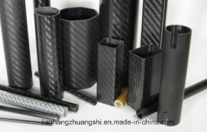 High Insulation 3k Carbon Fiber Tube/Pipe pictures & photos