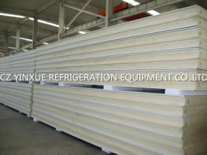 Low Price 100mm Cold Room PU Sandwich Panel for Food Cold Room
