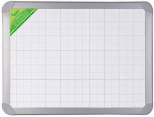Magnetic/Non Magnetic White Display Board with Aluminium Frame