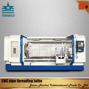 Qk1322 Pipe Threading CNC Lathe for Sale pictures & photos