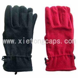 Fashion Lady′s Fleece Gloves, Winter Warm Glove (JRG038) pictures & photos