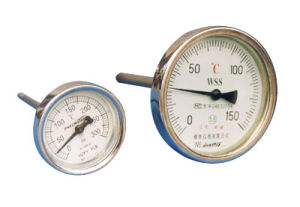 Industrial Bimetal Thermometers with Back Connection (LX-014) pictures & photos