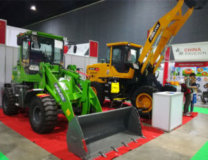 New Model at Exhibition 2200kg Small Loader with Joystick pictures & photos