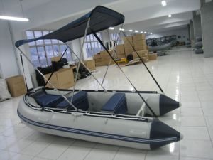 Sunshade Inflatable Fishing Boat with Canopy pictures & photos