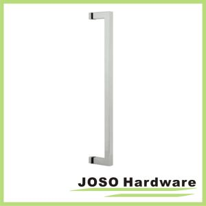 Polished Stainless Square Tubing No Washers Single-Sided Towel Bar pictures & photos