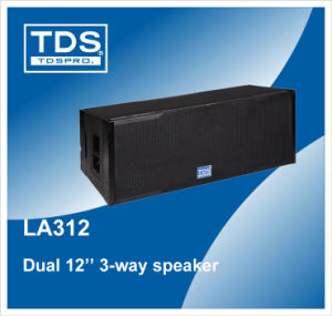 Dual 12inch Three-Way Line Array Loudspeaker LA312 pictures & photos