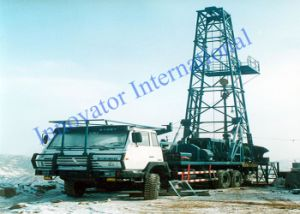 Vehicle-Carried Rock Core Drilling Rig