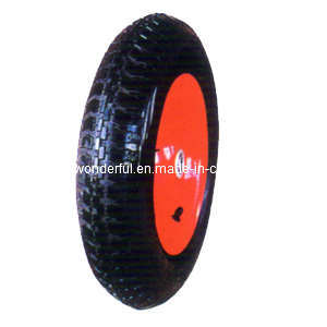 Rubber Tyre/Tire For Wheelbarrow Wheel And Tool Cart Wheel (3.50-8)