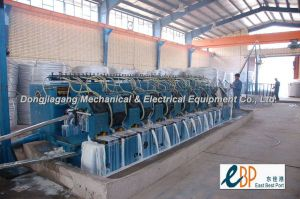 Aluminum Alloy Rod Continuous Casting& Rolling Line (TYPE 1600+255/14)