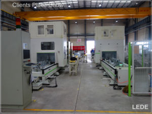 Vertical Machine Center with 5 Axis for Aluminium Profile Drill and Cut