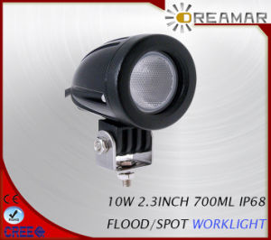 10W 700lm LED Headlight with Flood /Spot Beam for 4X4 pictures & photos